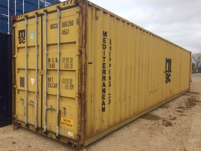 40' Second Hand Container